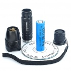 FANDFIRE F101 1-Mode White 320LM LED Flashlight w/ CREE XPE R5 / Strap (1 x 18650/2 x 16340)