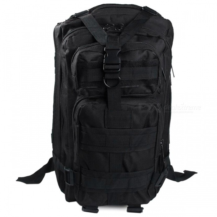 25L Unisex Outdoor Military Army Tactical Backpack - BlackForm  ColorBlackBrandOthers,Others,N/AModel150756004Quantity1 pieceMaterialOxford FabricTypeHiking &amp; CampingGear Capacity25 LCapacity Range20L~40LFrame TypeExternalRaincover includedYesBest UseClimbing,Family &amp; car camping,Mountaineering,Travel,CyclingPacking List1 x Backpack<br>