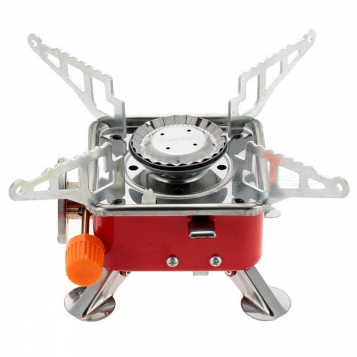 2800W Stainless Steel Gas StoveCooking Stove And Hardware<br>Form  ColorRed + SilverQuantity1 DX.PCM.Model.AttributeModel.UnitMaterialStainless SteelBest UseFamily &amp; car camping,CampingTypeCooking Utensils,Camp StovesPacking List1 * Stove1 * Pouch1 * User Manual (English)<br>