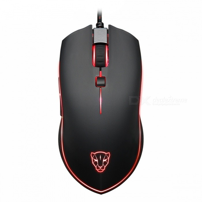 Motospeed V40 USB Wired Gaming Mouse - Black