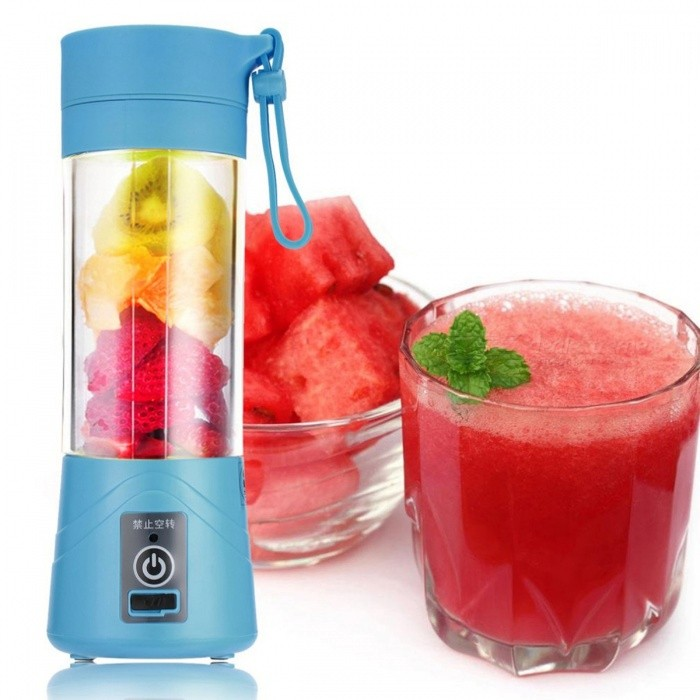 380ML Portable USB Rechargeable Juicer Cup Bottle