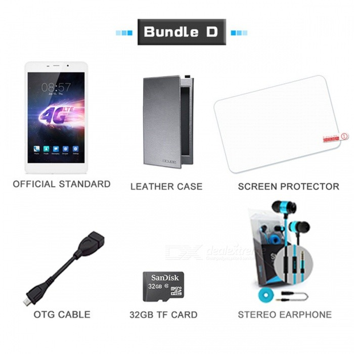 Cube T8 ultimate Android 5.1 4G Phone Tablet with RAM 2GB, ROM 16GBAndroid Tablets<br>Form  ColorBundle DBrandCUBEModelT8 ultimateQuantity1 pieceMaterialAluminium alloyShade Of ColorWhiteProcessor BrandMediatekProcessor ModelOthers,MT8783Processor Speed1.3~1.5 GHzNumber of CoresOcta-CoreGPUMali-T720 MP3RAM/Memory TypeDDR3 SDRAMBuilt-in Memory / RAM2GBCapacity / ROM16GBScreen Size8.0 inchesScreen Size7.8 inches~8.9 inchesScreen TypeIPSTouch TypeCapacitive screenResolution1920 x 1200Touch Point5-point Capacitive Touch Screen3G TypeWCDMA3G Frequency Range900,2100,Others,18003G Function3G Phone call4G standardFDD-LTE,TD-LTEOperating SystemAndroid 5.1LTE Band SupportOtherSupported NetworkWifi,Built-in 3G,Bluetooth,GPSGravity SensorYesWi-Fi StandardOthers,IEEE 802.11 a/b/g/n (2.4GHz+5GHz)Bluetooth VersionBluetooth V4.0MicrophoneYesBuilt-in SpeakersYesInterface1 x 3.5mmHDMINoUSB ChargeYesGoogle Play(Android Market)NoCamera type2 x CamerasFront Camera Pixels5.0 MPBack Camera Pixels13.0 MPStorage InterfaceTFButtonSound,PowerImagesBMP,GIF,JPEG,JPG,PNGE-bookDOC,HTML,PDF,PDB,TXTVideo FormatsRM,RMVB,MP4,MPG,MPEGExternal Memory Max. SupportOthers,128 GBMicrophone JackYesPower AdapterUS PlugTip DiameterOthers,N/ASupported LanguagesEnglish,French,German,Italian,Spanish,Portuguese,Polish,Greek,Danish,Norwegian,Dutch,Arabic,Turkey,JapaneseBattery Capacity3800 mAhBattery TypeLi-polymer batteryWorking Time- hourStandby Time- hourCharging Time- hourOther Features2D/3D Graphic Processing Unit,Support OpenGL ES 2.0 and<br>Open VG Web Page Browsing,Web Chatting,E-mail,e-book ,Explorer,ClockPacking List1 x Tablet1 x Charger1 x USB cable<br>
