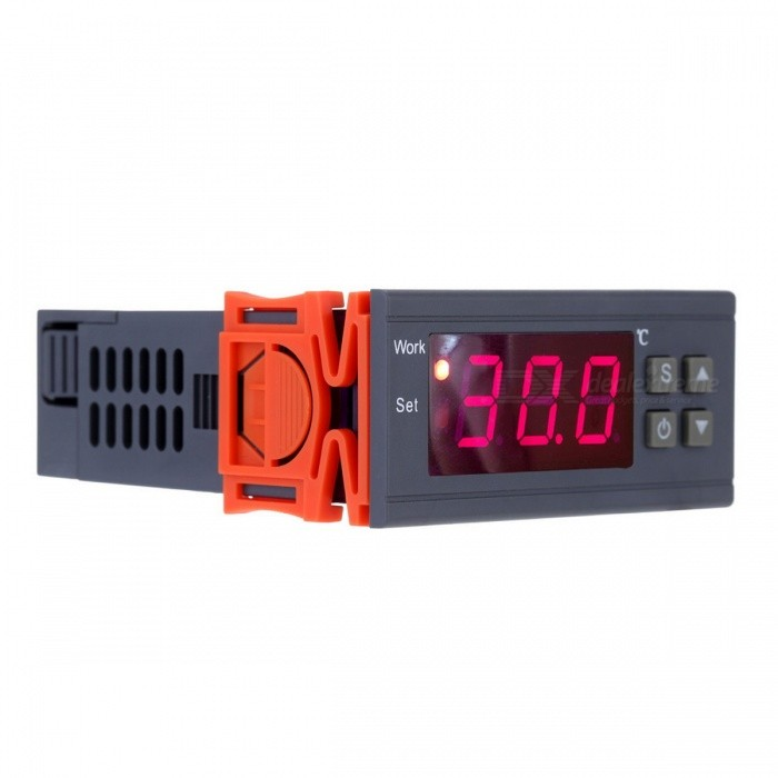 Buy 250V 10A Digital Thermometer Temperature Controller with Litecoins with Free Shipping on Gipsybee.com