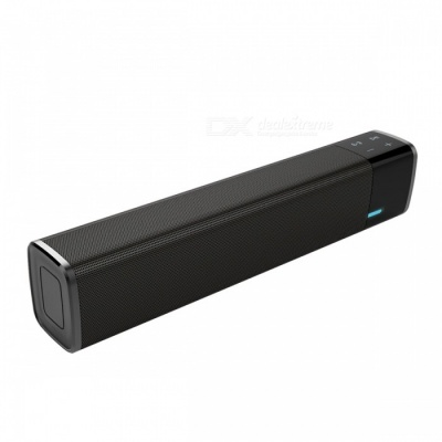 Portable 20W Super Bass Wireless Bluetooth Speaker - Black
