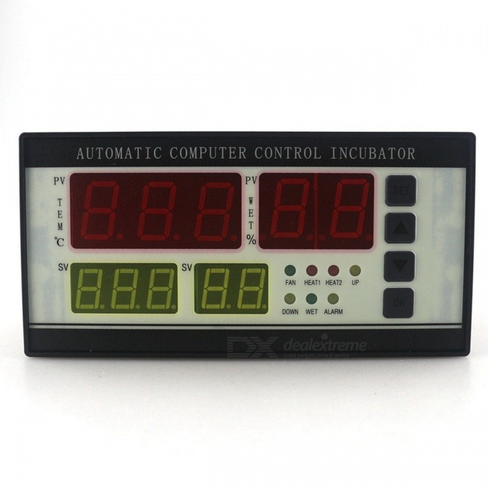 XM-18 Incubator Controller Thermostat Hygrostat with Two Sensors