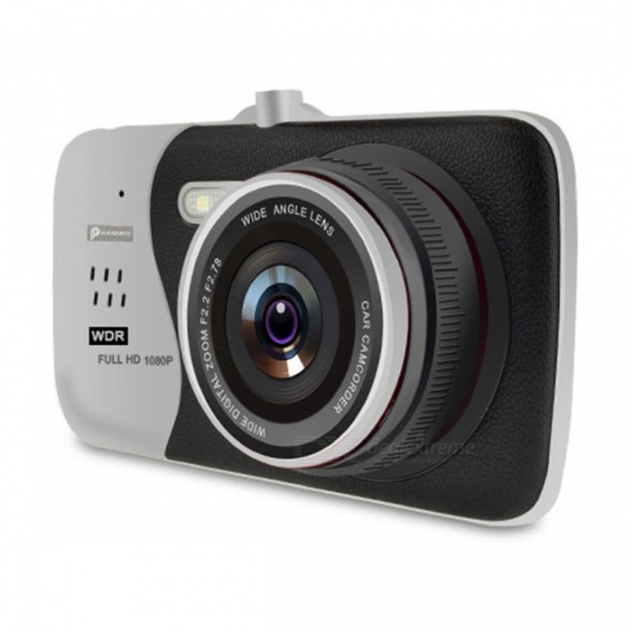 4.0 Car DVR Novatek NTK96658 Car Camera T810 - 16GB Silver Dual/PowerCar DVRs<br>Form  ColorDVR With 16GB Card-Silver Dual PowerModelT810Quantity1 setMaterialABSChipsetNovatekOther FeaturesOthers,N/AWide Angle170°-189°Camera Lens2Image SensorCMOSImage Sensor SizeOthers,1/3 Color CmosCamera PixelOthers,1200MegaWide AngleOthers,170°Screen TypeOthers,IPSScreen SizeOthers,4.0 inch IPS ScreenVideo FormatMOVDecode FormatH.264Video ResolutionOthers,N/AVideo Frame Rate30Still Image ResolutionOthers,N/AMicrophoneYesMotion DetectionYesAuto-Power OnYesLED QtyOthers,YesG-sensorYesLoop RecordOthersDelay ShutdownYesTime StampYesMax. Capacity32GBStorage ExpansionSD,Others,Memory Card Required Reding Speed:Class 10Data interfaceMini USBWorking Voltage   12 VWorking Time5 minutesMenu LanguageOthers,English,Chinese,Italian,Spanish,Portugues,German,French,Russian,Japanese etc.Packing List1 x Car DVR<br>