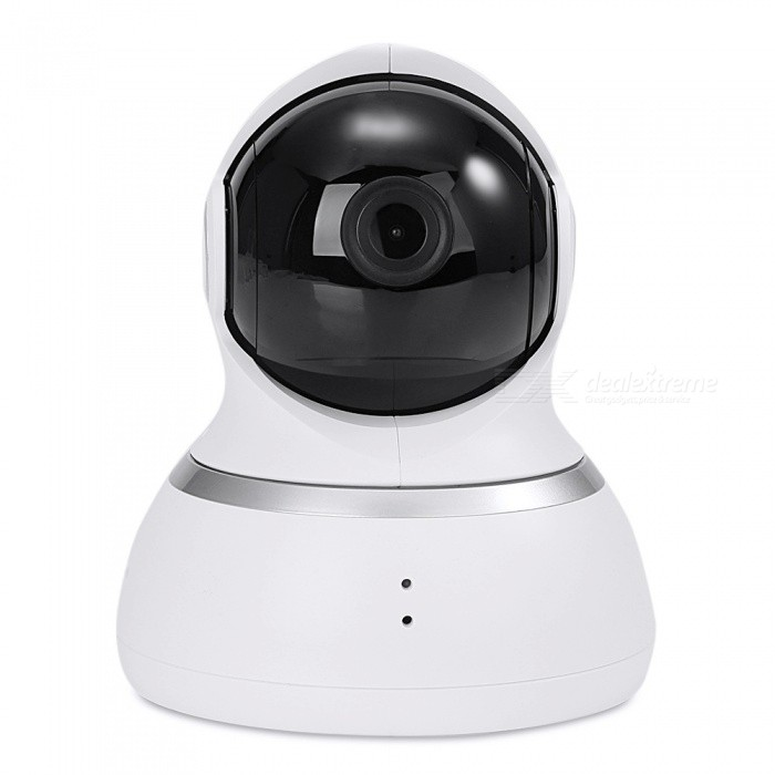 Xiaomi YI DOME Home 360 Degree Rotatable IP Camera - White (US Plug)IP Cameras<br>Form  ColorWhitePower AdapterUS PlugMaterialABSQuantity1 setImage SensorCMOSPixels1080P(Full-HD)LensOthers,2.6Viewing AngleOthers,90-120 °Video Compressed FormatH.264Minimum Illumination0.01 LuxNight VisionYesIR-LED Quantity8Night Vision Distance10 mWireless / WiFi802.11 b / g / nNetwork ProtocolTCP,IP,UDP,HTTP,SMTP,FTP,DHCP,DDNSSupported SystemsOthers,Windows 7,Windows 8Supported BrowserIE 6.0 and aboveOnline Visitor-Mobile Phone PlatformAndroid,iOSFree DDNSYesMemory CardMicro SD cardMax. Memory Supported32GBMotorYesRotation Angle360Zoom2.8mmSupported LanguagesEnglishWater-proofNoRate Voltage5VRated Current1 APacking List1 x Camera1 x Power adapter1 x USB data cable1 x User manual (English)<br>