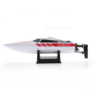 2.4GHz Brushed 30km/h High Speed Pool RTR RC Racing Boat - White