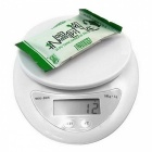 "5000g/1g 1.5"" LCD Electronic Kitchen Food Digital Scale"