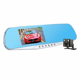 Night-Vision-One-Len-Car-DVR-Camera-with-Blue-Rearview-Mirror