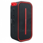 BV500 Outdoor Portable Wireless Bluetooth Lautsprecher für Camping - Rot