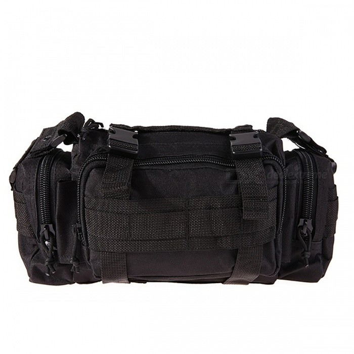 6L Outdoor Military Tactical Taille Pack - Schwarz