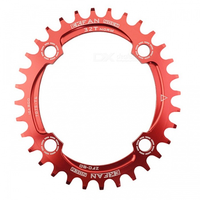 104BCD Oval Bike Chainring Chainwheel - Red (36T)Form  ColorRed (36T)ModelN/AQuantity1 pieceMaterialAluminum AlloyBest UseOthers,Road Bicycles,Mountain BikesSuitable forAdultsTypeOthers,Chain WheelPacking List1 x Chain Wheel<br>
