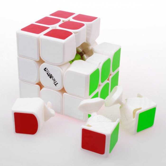 3x3x3 Magic Speed Cube - White
