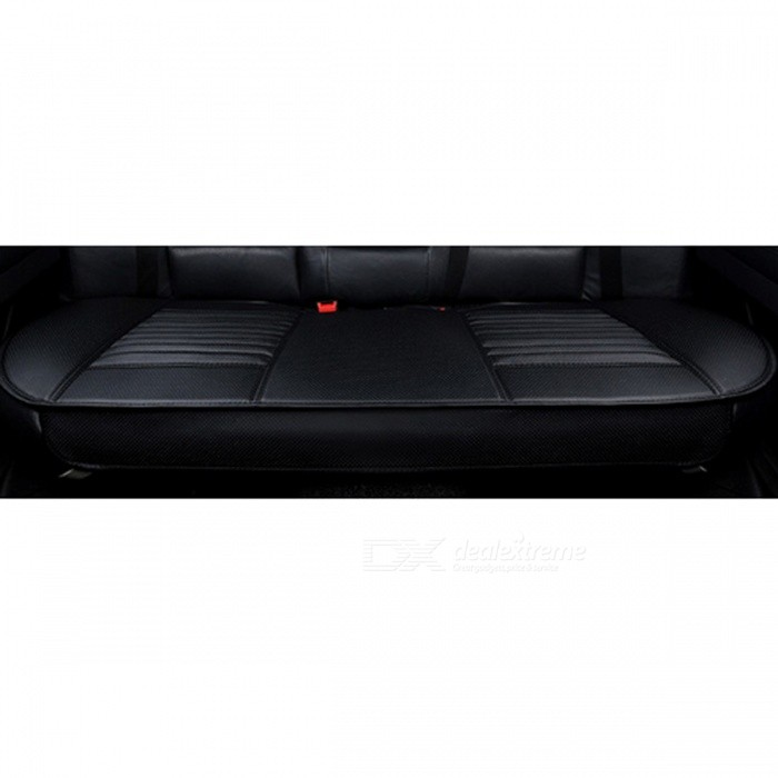 Four Seasons Stylish Universal PU Car Seat Cushion - Black/BackCar Cushions and Pillows<br>Form  ColorBlack / BackModel-Quantity1 DX.PCM.Model.AttributeModel.UnitMaterialPUShade Of ColorBlackTypeOthers,N/ASurface MaterialPULining MaterialBamboo carbonPacking List1 x Car seat cushion<br>