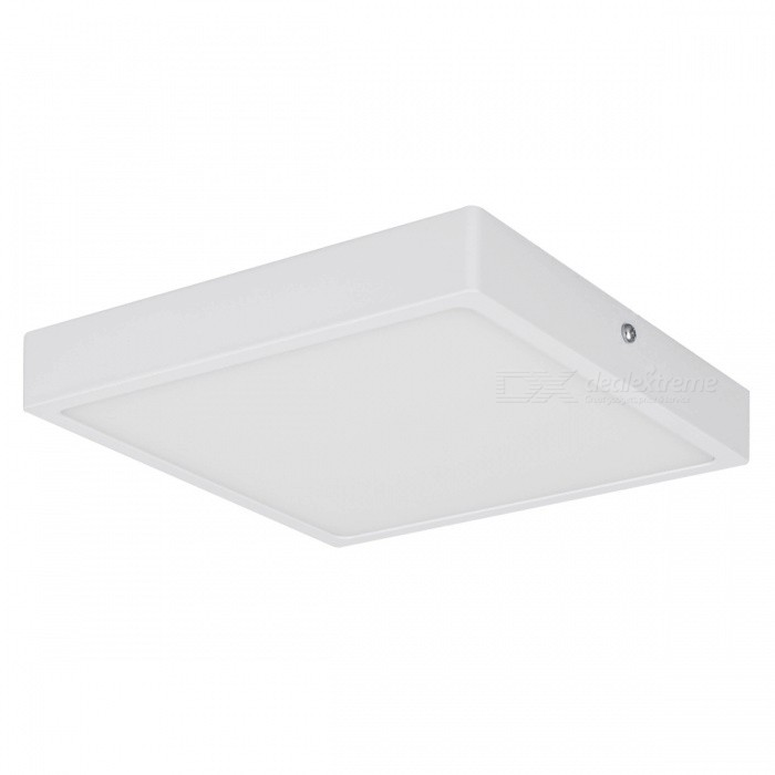 Buy 24W 2000lm 6000K LED Cold White Square Panel Light (AC 85~265V) with Litecoins with Free Shipping on Gipsybee.com
