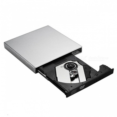 USB 2.0 External DVD ROM Optical Drive for Laptop Computer PC