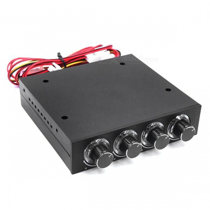 4-Channel Speed Fan Controller with LED Controller and CPU HDD VGA