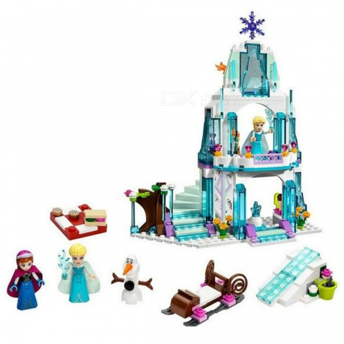 Buy 316Pcs Color Box Dream Princess Elsa Gift Toy for Kids with Litecoins with Free Shipping on Gipsybee.com