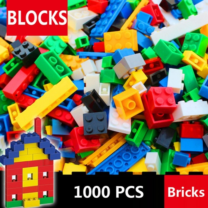Buy 1000Pcs DIY Creative City Building Bricks Set Toy with Litecoins with Free Shipping on Gipsybee.com