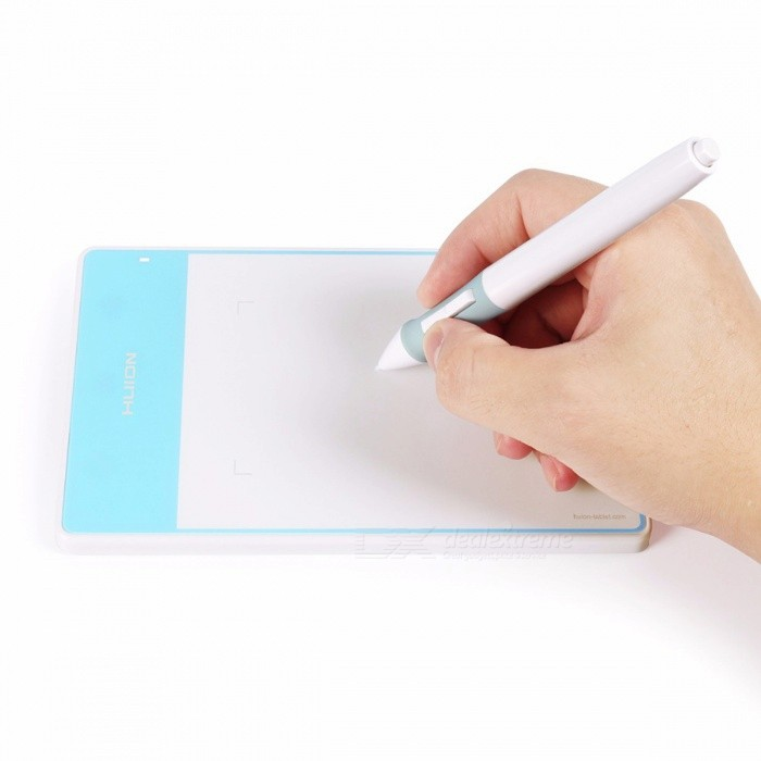 HUION-420-Portable-Smart-Stylus-Digital-Tablet-Signature-Board-White