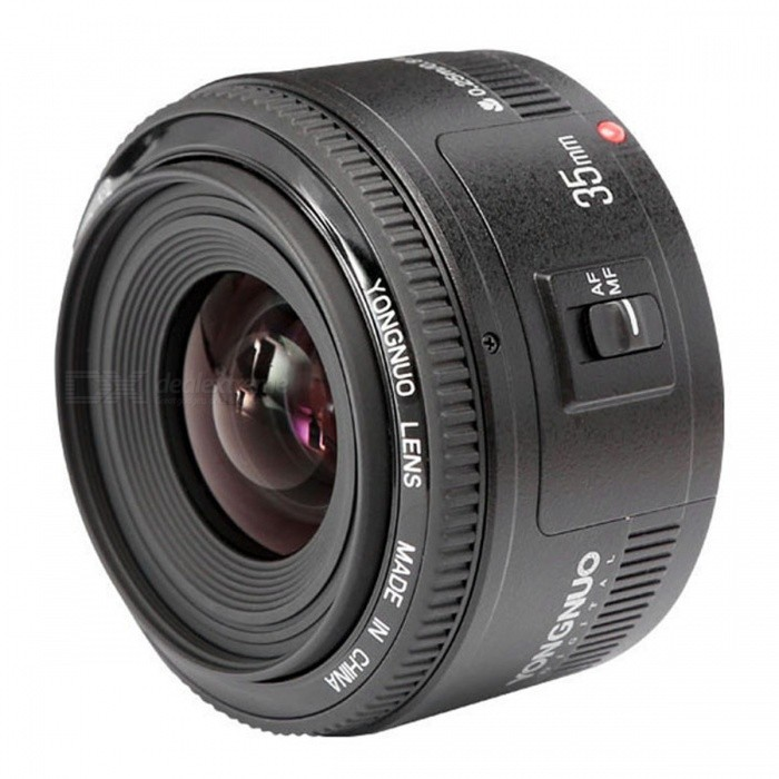 Yongnuo YN35mm F2.0 Lens Wide Angle Fixed Lens for Canon DSRL Camera