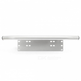Car-Bumper-License-Plate-Mount-Bracket-Light-Bar-Holder-Silver