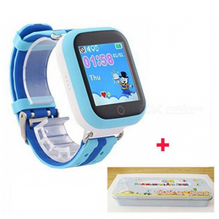 Q750 GPS Wi-Fi Smart Watch for Baby - Blue