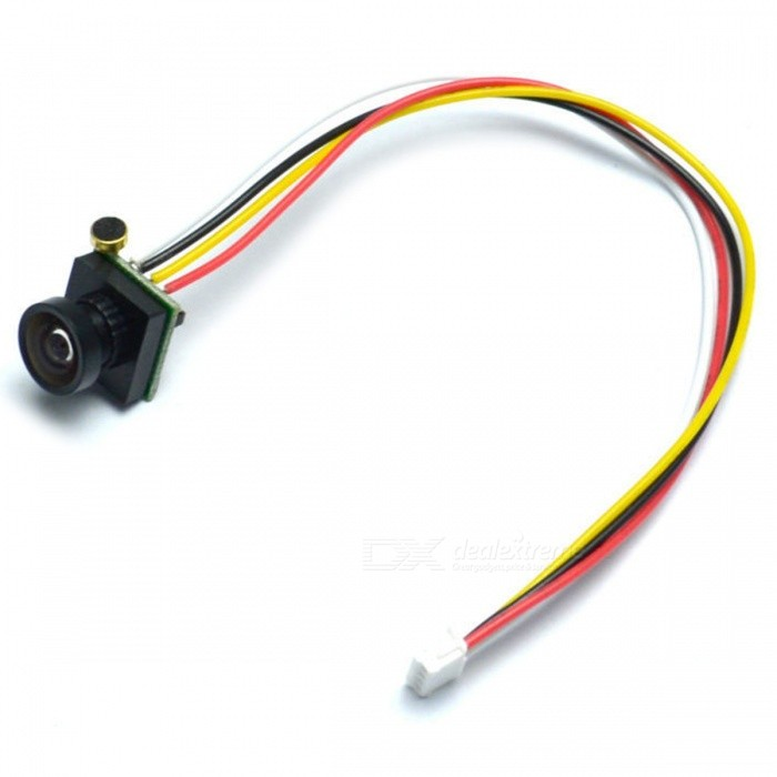 600TVL 170 Degree Super Small Mini Color Video FPV CameraOther Accessories for R/C Toys<br>Form  ColorBlack + MulticolorModelN/AMaterialComposite MaterialQuantity1 setCompatible ModelAirplanesPacking List1 x 600TVL camera1 x Manual1 x Cable<br>