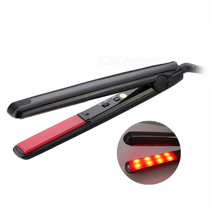 Buy Ultrasonic Infrared Cold Hair Care Iron (EU Plug) with Litecoins with Free Shipping on Gipsybee.com