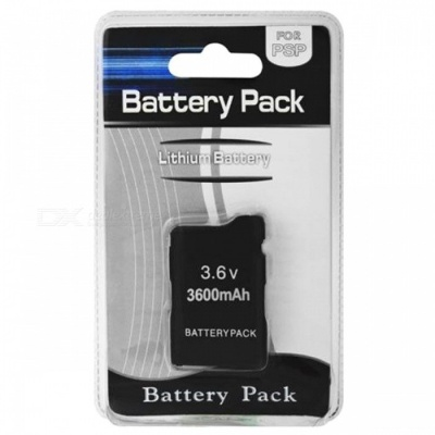 Replacement 3.6V 3600mAh Rechargeable Battery for PSP 1000
