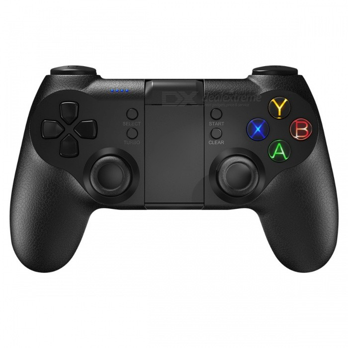 T1s Bluetooth Wireless Gaming Controller Gamepad for PS3 / VR - BlackOther Consoles Accessories<br>Form  ColorBlackQuantity1 DX.PCM.Model.AttributeModel.UnitMaterialPlasticShade Of ColorBlackPacking List1 x Gamepad<br>