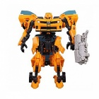 Transformation 4 Car Robot Toy - Yellow