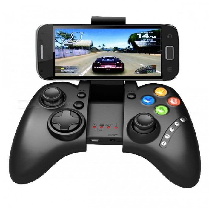 ipega PG 9021 PG-9021 Wireless Bluetooth Game Controller - BlackOther Consoles Accessories<br>Form  ColorBlackModelPG-9021Quantity1 DX.PCM.Model.AttributeModel.UnitMaterialPlasticShade Of ColorBlackPacking List1 x Gamepad<br>