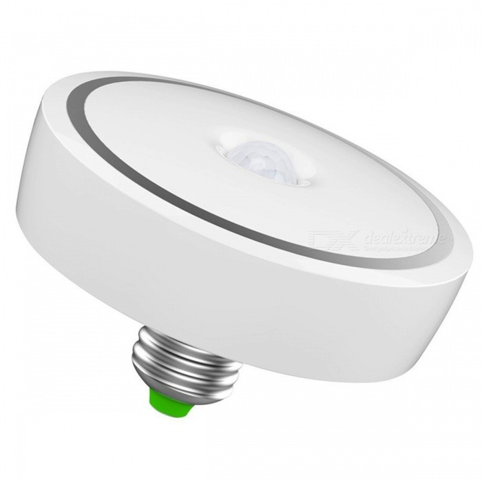 12W Smart Motion Sensor Human Induction Cold White Night LightLED Nightlights<br>Form  ColorCold White LightMaterialABS + PCQuantity1 DX.PCM.Model.AttributeModel.UnitPower12WRated VoltageAC 85-265 DX.PCM.Model.AttributeModel.UnitColor BINWhiteEmitter TypeLEDTotal Emitters24DimmableNoBeam Angle160 DX.PCM.Model.AttributeModel.UnitInstallation TypeOthers,-Packing List1 x 12W PIR 24-LED Blub<br>