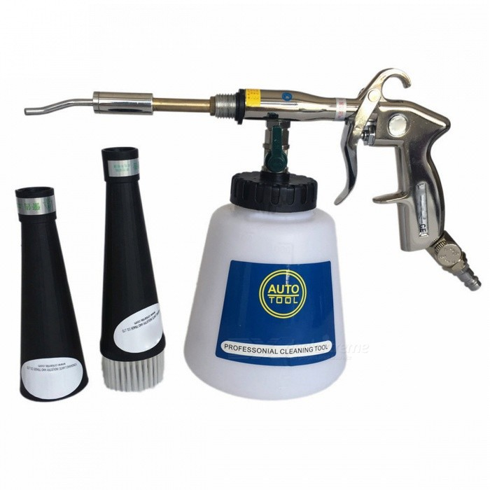Preto Bearing Tornador Cleaning Gun for Car - BlackCar Cleaning Tools<br>Form  ColorBlack (European Standard)ModelEuropean standardQuantity1 DX.PCM.Model.AttributeModel.UnitMaterialAluminum-alloy HandleShade Of ColorBlackTypeOthers,Cleaning GunPacking List1 x Cleaning Gun<br>