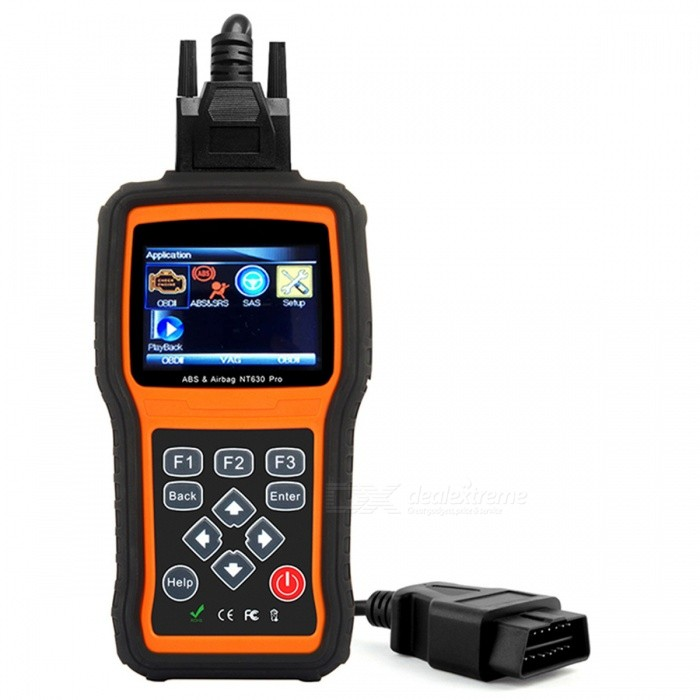 foxwell NT630 pro OBD scanner do motor SRS airbag crash data reset tool