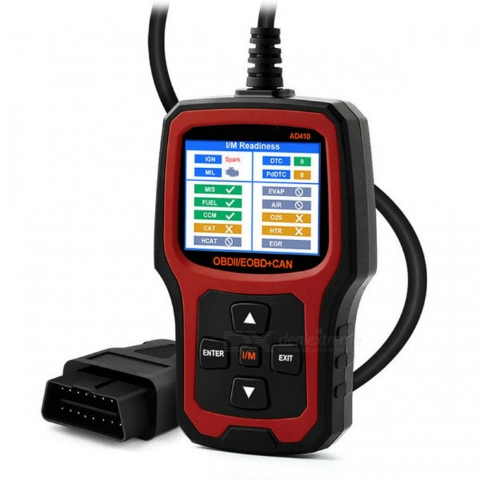 OBD2 Scanner Car Code Reader OBDII Vehicle OBD Diagnostic Tool - RedCode Readers and Scan Tools<br>Form  ColorRedModel-Quantity1 DX.PCM.Model.AttributeModel.UnitMaterialPlasticWireless BluetoothNoDiagnose Interface16pinSupported LanguagesOthers,N/APacking List1 x Diagnostic Tool<br>