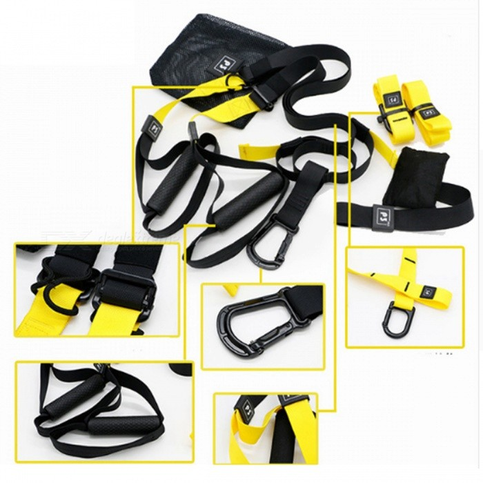 Resistance Band Strength Hanging Training Strap Belt for Men Women