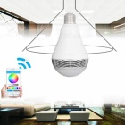 Intelligent E27 6W RGB LED Bulb Bluetooth Smart Lighting Lamp
