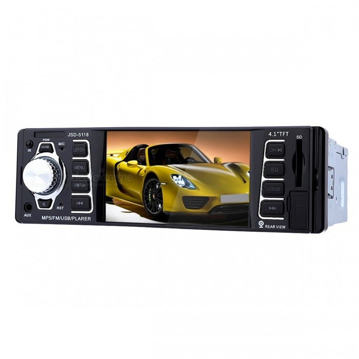 Buy 7020G 4.1'' 12V Bluetooth Car Stereo FM Radio MP3 Audio Player with Litecoins with Free Shipping on Gipsybee.com