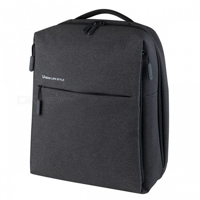 Xiaomi Backpack Mi Minimalist Urban Life Style Polyester Backpack for School Business Travel - Black