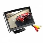 "5"" HD 800*480 TFT LCD Screen Car Monitor with Paste Type Bracket for Rear View Camera"