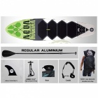 300*75*15cm 10 Feet Inflatable Surf Board Surfboard with Pedal (Set D)