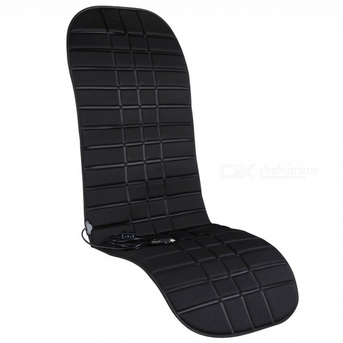45W Universal Winter Truck Car Seat Back Row Warm-Keeping Cushion Heating Pad Mat - Black (DC 12V)Car Cushions and Pillows<br>Form  ColorBlackModel-Quantity1 DX.PCM.Model.AttributeModel.UnitMaterialCottonShade Of ColorBlackTypeOthers,-Surface MaterialCottonLining MaterialCottonPacking List1 x Heating Pad<br>