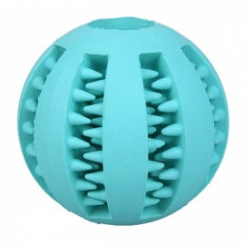 5cm Bite Resistant Soft Rubber Bouncy Ball Tooth Cleaning Dog Chew Toy