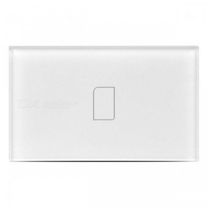 BroadLink TC2 1Gang Intelligent Touch Switch Panel - White (US/AU, AC 110-150V)Home Smart Devices<br>Form  ColorWhite (US/AU, 1Gang, 110-150V)Quantity1 DX.PCM.Model.AttributeModel.UnitMaterialFlame retardant materialsRate VoltageAC 110-150VPower AdapterOthers,US/AUPacking List1 x TC21 x Capacitance2 x Fixed screws1 x User manual in English<br>