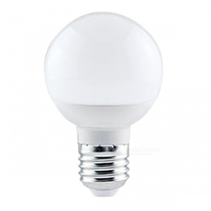 Energy Saving E27 7W SMD-5730 Warm White Light LED Globe Bulb Lamp (AC 85V-265V)E27<br>Color BINWarm WhiteMaterialPCForm  ColorWhiteQuantity1 DX.PCM.Model.AttributeModel.UnitPower7WRated VoltageAC 85-265 DX.PCM.Model.AttributeModel.UnitConnector TypeE27Chip BrandEpistarChip Type5730Emitter TypeLEDTotal Emitters1Actual Lumens300-500 DX.PCM.Model.AttributeModel.UnitColor Temperature3000KDimmableNoBeam Angle360 DX.PCM.Model.AttributeModel.UnitPacking List1 x LED Lamp<br>
