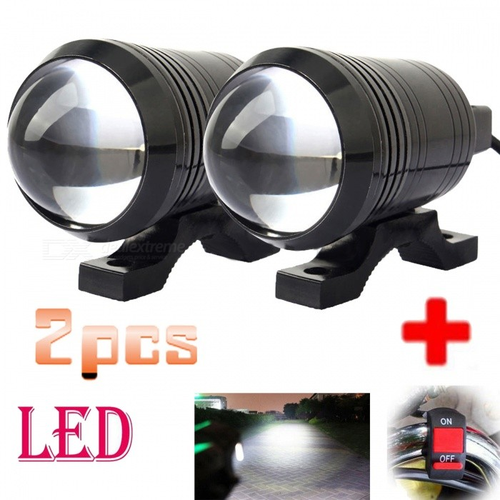 U1-Universal-Fisheye-Lens-12W-Motorcycle-Light-Headlight-Driving-Fog-Spot-Night-Work-Lamp-2b-Switch-(2-PCS)