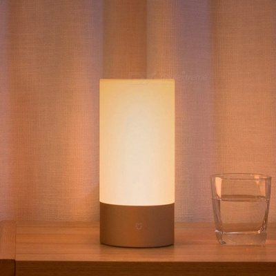 Xiaomi Mijia LED Smart Bedside Table Cylinder Touch Dimmable Lamp, with Bluetooth and Wi-Fi Dual Control By Smart Phone